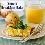 Simple Breakfast Bake | realmomkitchen.com