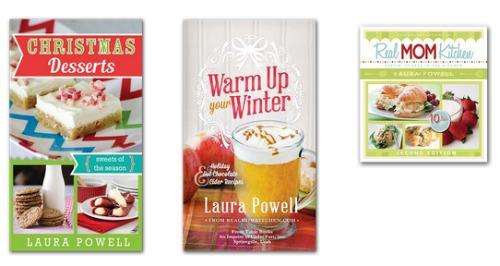 all 3 Real Mom Kitchen cookbooks