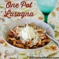One Pot Lasagna | realmomkitchen.com