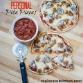 Personal Pita Pizzas | realmomkitchen.com