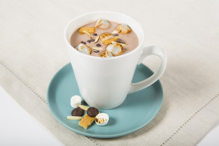 TruMoo Rocky Road Hot Chocolate