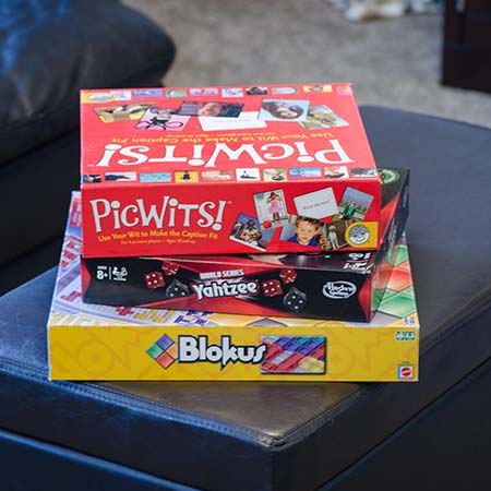 our favorite board games - indoor winter activities
