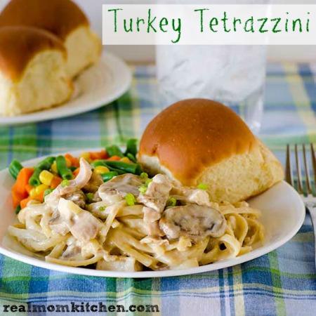 Turkey Tetrazzini | realmomkitchen.com