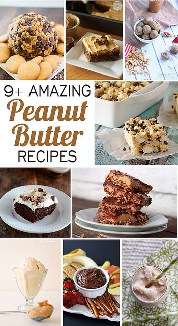 9+ peanut butter recipes #celebratingfood #nationalpeanutbutterday