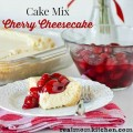 Cake Mix Cherry Cheesecake l| realmomkitchen.com