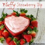 Fluffy Strawberry Dip | realmomkitchen.com