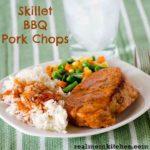 Skillet BBQ Pork Chops | realmomkitchen.com