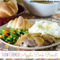 Slow Cooked Apple Pork Roast | realmomkitchen.com