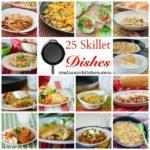 25 Skillet Dishes | realmomkitchen.com