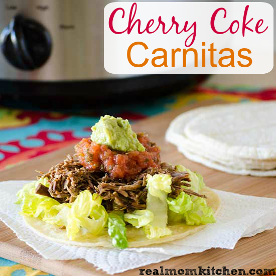 Cherry Coke Carnitas | realmomkitchen.com