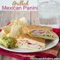Grilled Mexican Panini | realmomkitchen.com