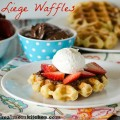 Liege Belgian Waffles | realmomkitchen.com