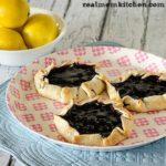 Mini Lemon Blueberry Crostatas | realmomkitchen.com