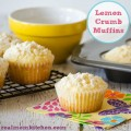Lemon Crumb Muffins | realmomkitchen.com