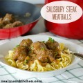 Salisbury Steak Meatballs | realmomkitchen.com