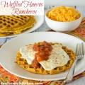 Waffled Huevos Rancheros   realmomkitchen.com