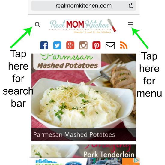 New Mobile Version of RMK | realmomkitchen.com