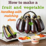 Fruit and Veggie Handbag with matching shoes | realmomkitchen.com