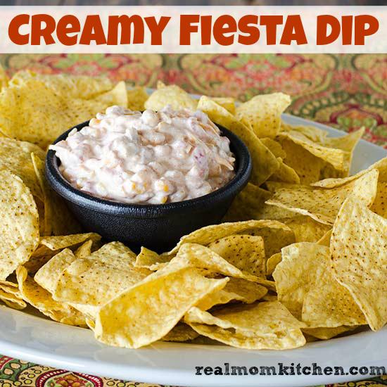 Creamy Fiesta Dip | realmomkitchen.com