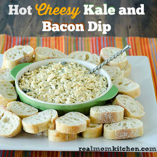 Hot Cheesy Kale and Bacon Dip plus Sargentos Chopped ...