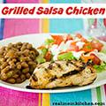 Grilled Salsa Chicken | realmomkitchen.com