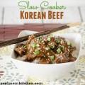 Slow Cooker Korean Beef | realmomkitchen.com