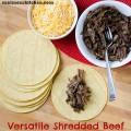 Versatile Shredded Beef | realmomkitchen.com