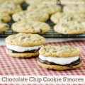 Chocolate Chip Cookie S'mores | realmomkitchen.com