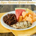 Dijon Mustard Grilled Chicken | realmomkitchen.com