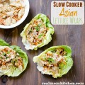 Slow Cooker Asian Lettuce Wraps | realmomkitchen.com