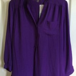 stitch fix 22 purple blouse | realmomkitchen.com