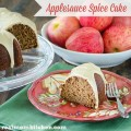 Applesauce Spice Cake | realmomkitchen.com #appleweek2015