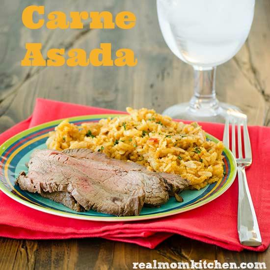 Carne Asada | realmomkitchen.com
