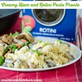 Creamy Ham and Rotini Pasta Pronto | realmomokitchen.com