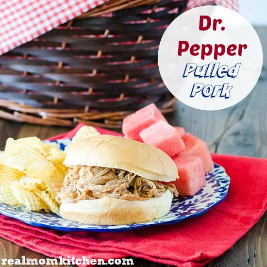 Dr Pepper Pulled Pork | realmomkitchen.com