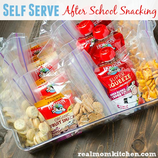 Self Serve After School Snacking | realmomkitchen.com