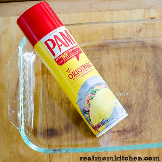 PAM Cooking Spray | realmomkitchen.com