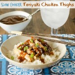Slow Cooker Teriyaki Chicken Thighs | realmomkitchen.com