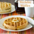 Weekday Waffles | realmomkitchen.com