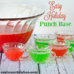 Easy Holiday Punch Base | realmomkitchen.com #Dole #KingofJuices