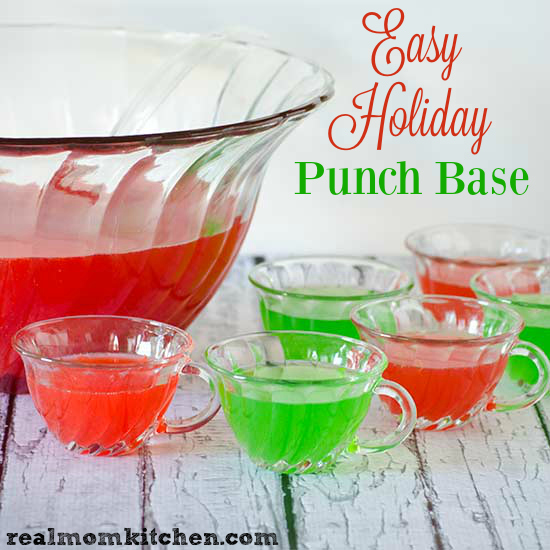 Easy Holiday Punch Base And 100% DOLE® Canned Pineapple