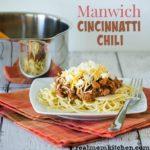 Manwich Cincinnatti Chili | realmomkitchen.com