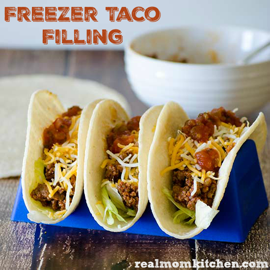 Freezer Taco Filling | realmomkitchen.com