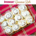 Overnight Cinnamon Rolls | realmomkitchen.com