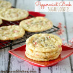 Peppermint Bark Sugar Cookies | realmomkitchen.com