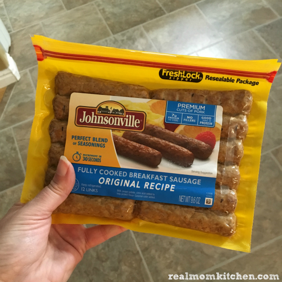 Johnsonville fully cooked sausage | realmomkitchen.com