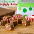 4 Ingredient Candy Bar Fudge | realmomkitchen.com