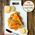 Easy Cream Cheese and Pepper Jelly Tree | realmomkitchen.com