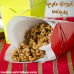 Maple Glazed Walnuts | realmomkitchen.com