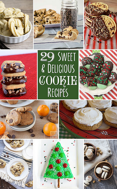 29 Sweet and Delicious Cookie Recipes | realmomkitchen.com #CelebratingFood2015